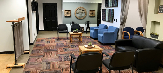 Chiropractic Dickson TN Office Waiting Room